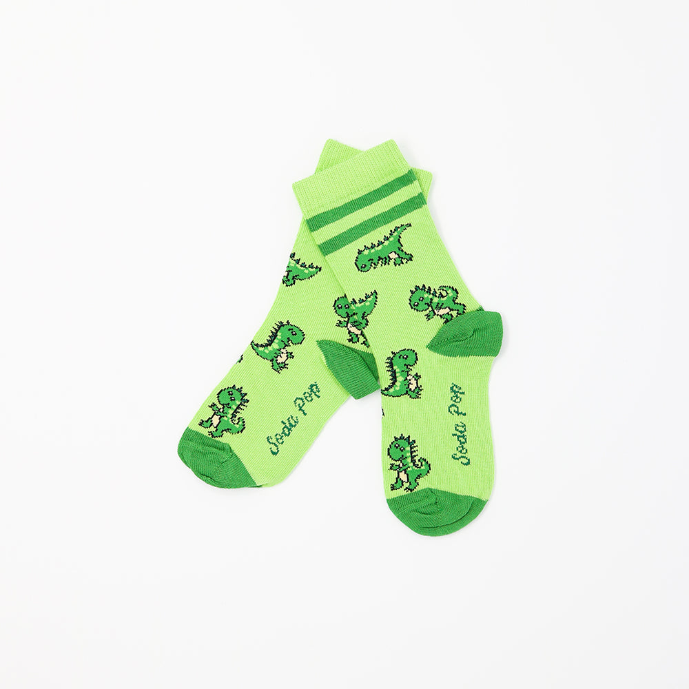 Dinosaur Sporty Kids Socks