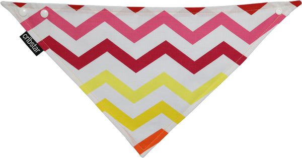 Flame Chevron (Horizontal) Bib
