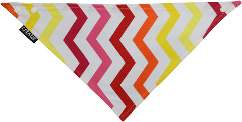 Copy of Flame Chevron (Vertical) Bib