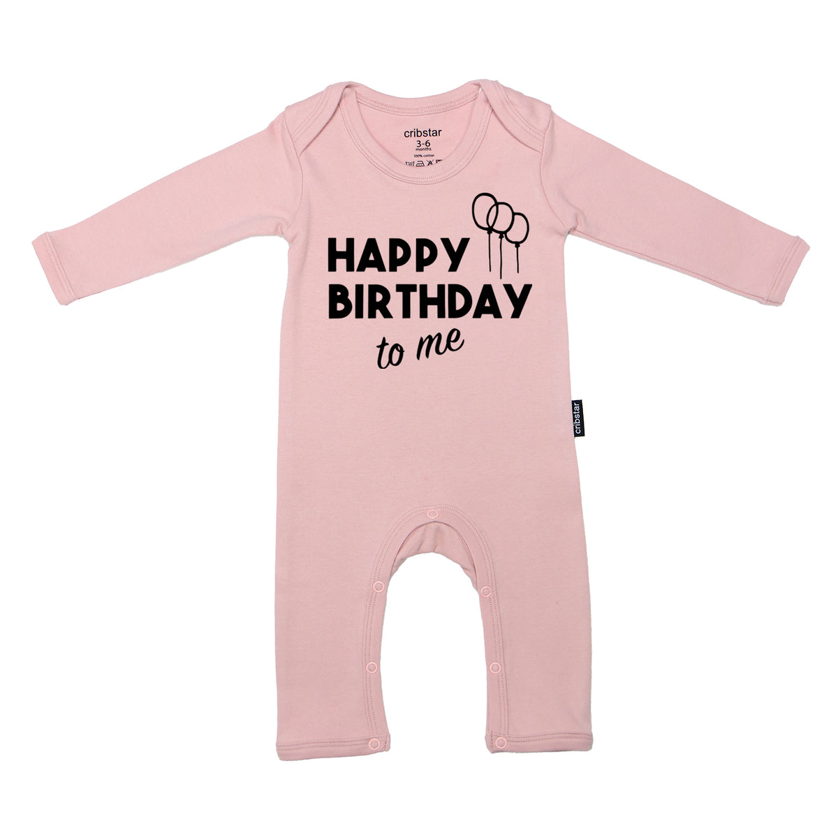 8ffd8948a9f Happy Birthday To Me Baby Romper – cribstar