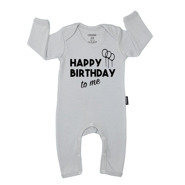 Happy Birthday To Me Baby Romper