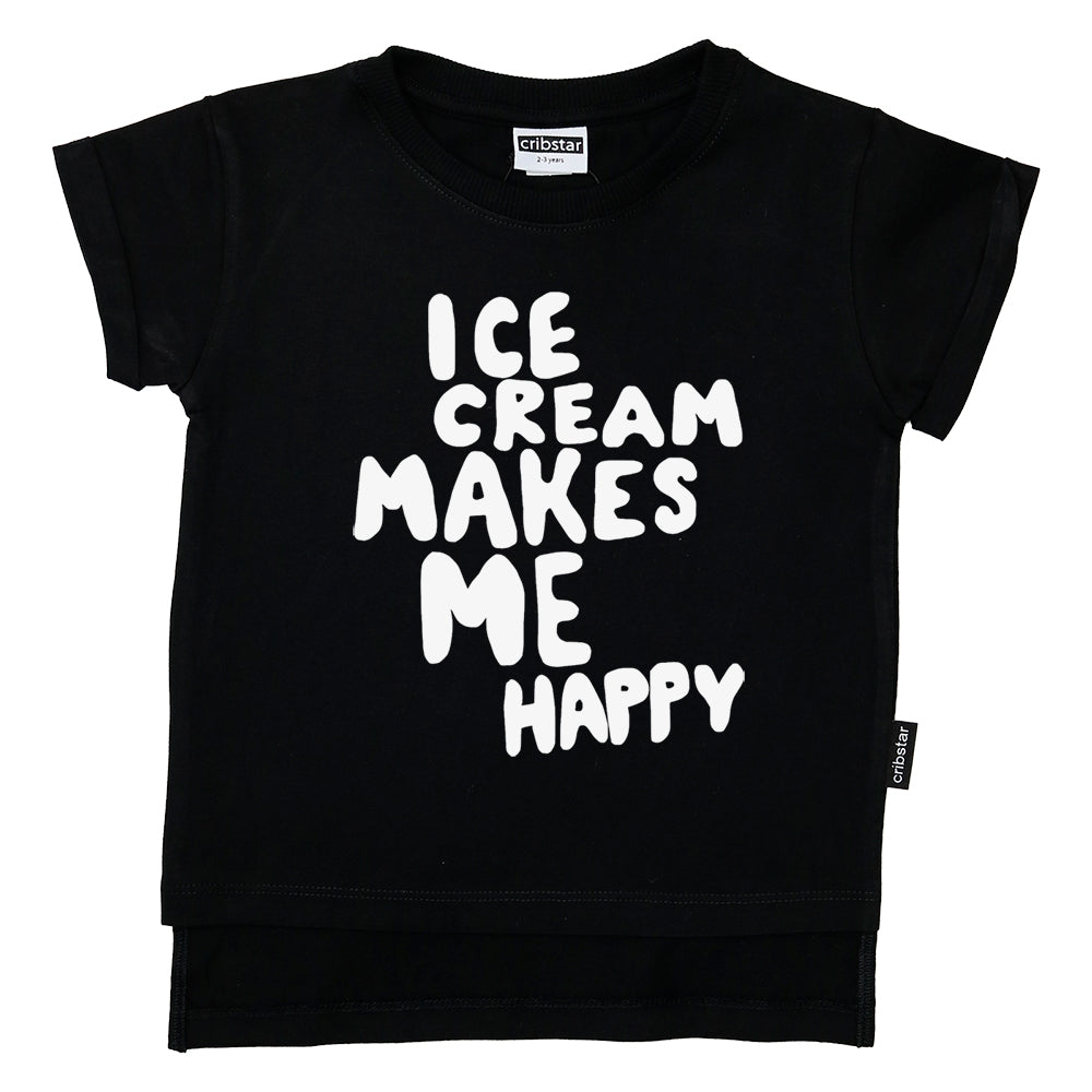 Ice Cream Makes Me Happy T-Shirt