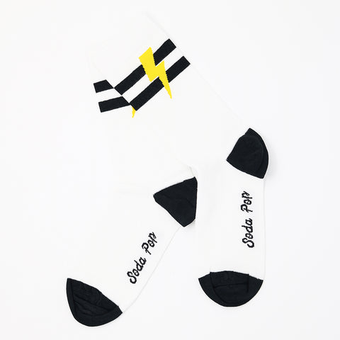 Lightning Bolt Sporty Women's Socks