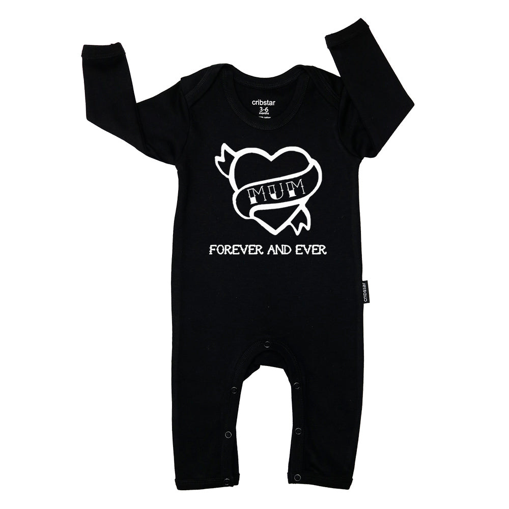 MUM Forever and Ever Baby Romper