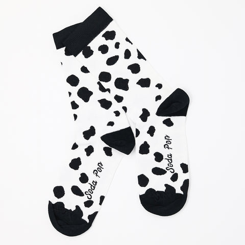Mono Cow Women's Socks