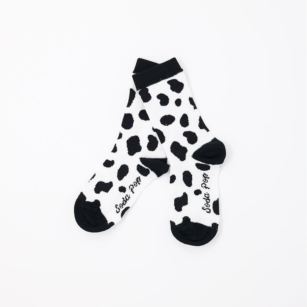 Mono Cow Kids Socks