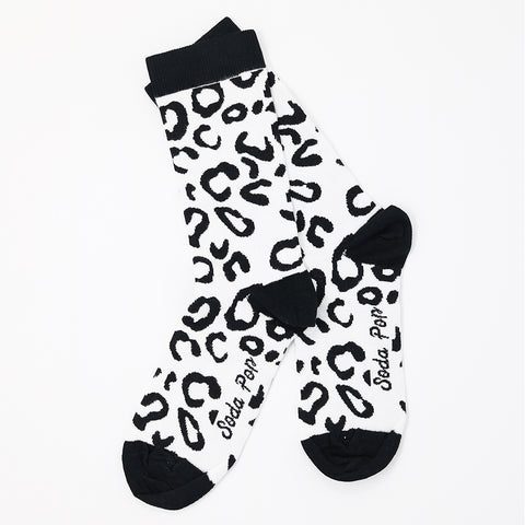 Mono Leopard Women's Socks