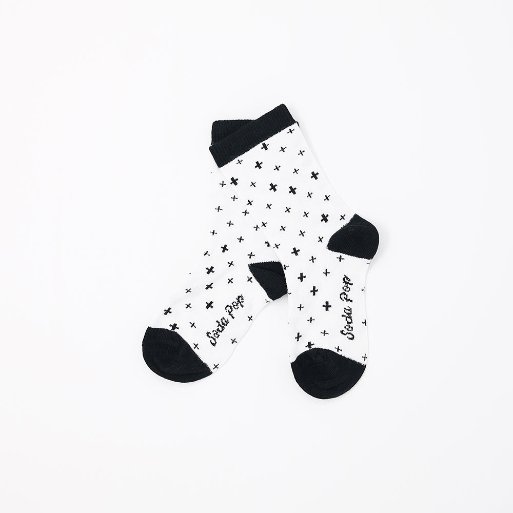Mono Crosses Kids Socks