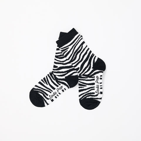 Mono Zebra Kids Socks