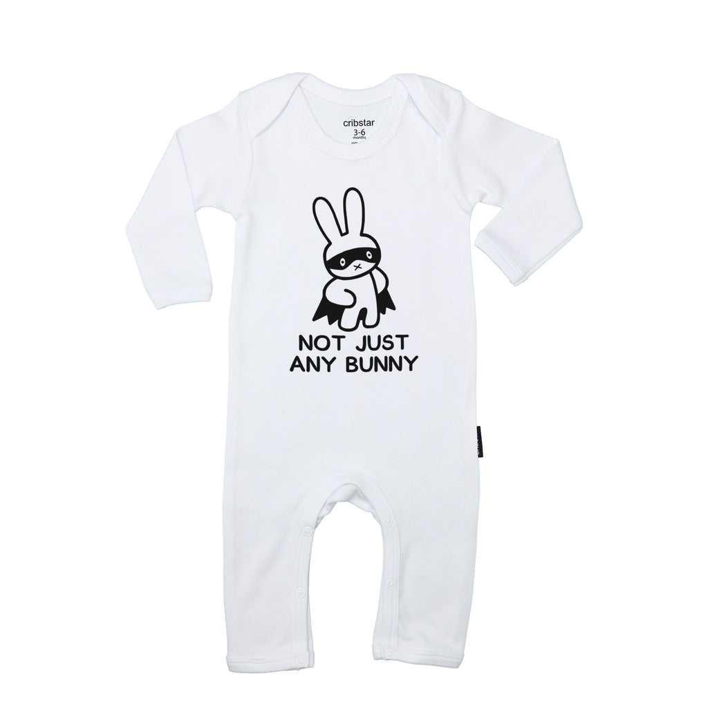 Not Just Any Bunny Baby Romper