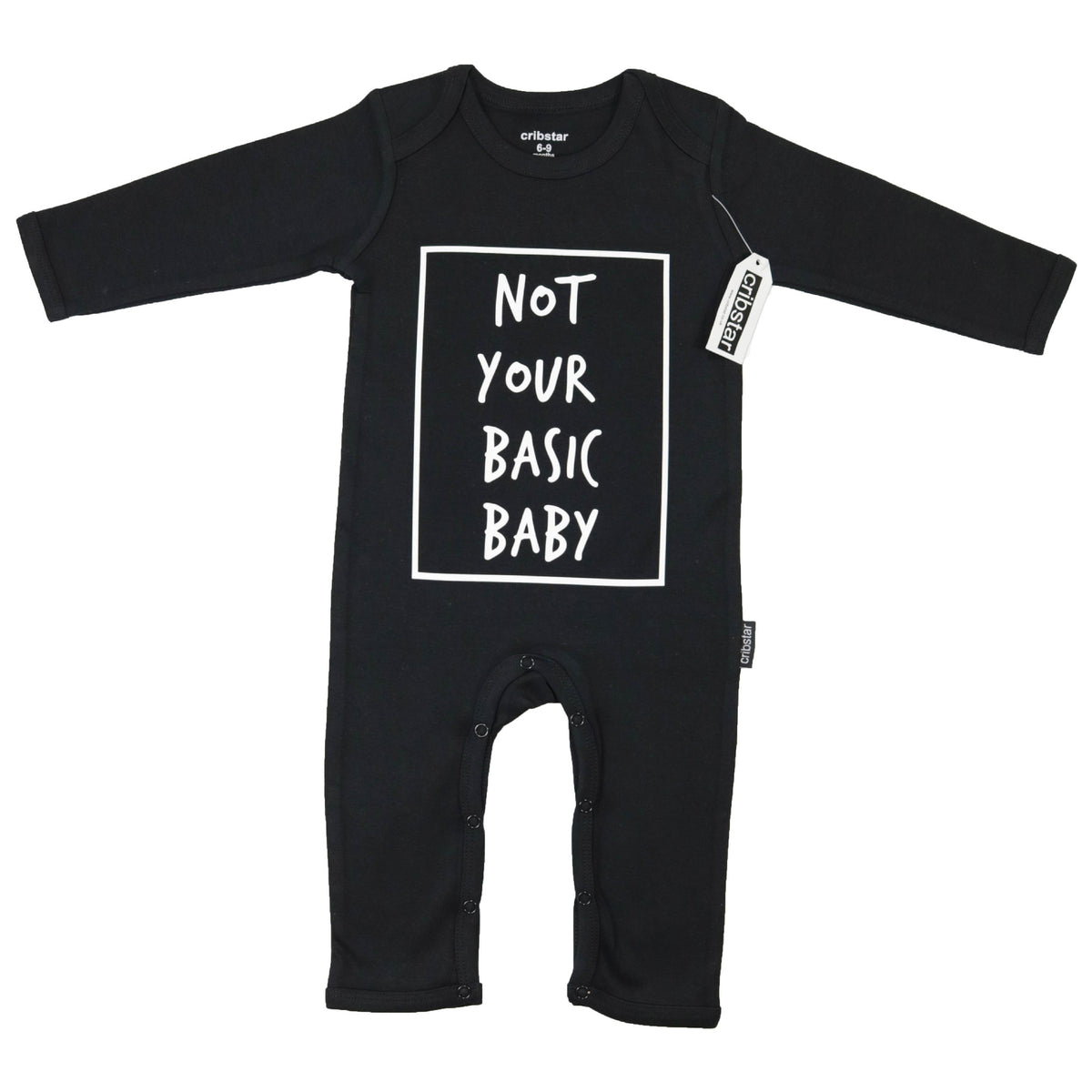 bec83cabf130 Not Your Basic Baby Romper – cribstar