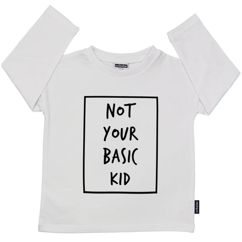 Not Your Basic Kid Long Sleeve Top - 2019 version
