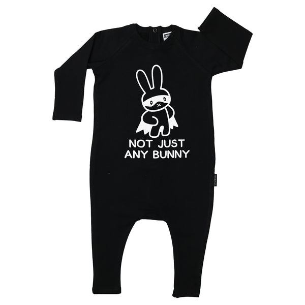 Not Just Any Bunny Long Sleeve Harem Romper