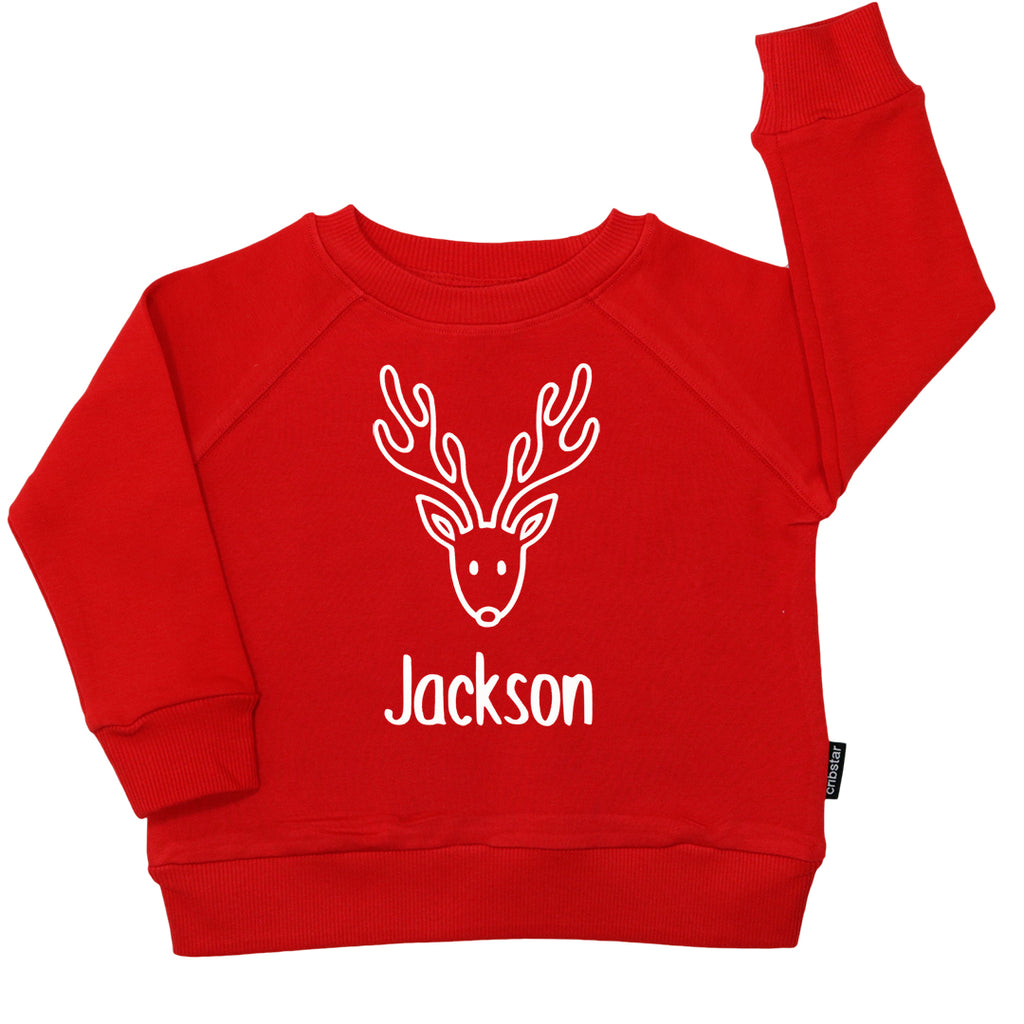 Rudolph Personalised Christmas Sweatshirt