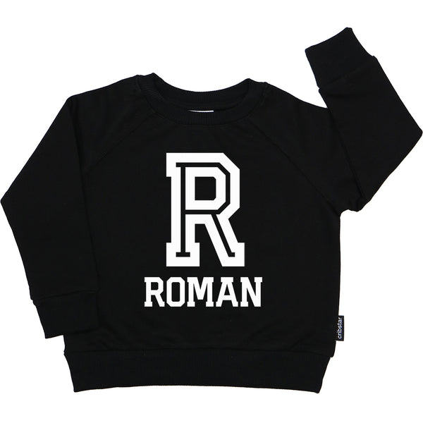 Personalised Letter/Name Sweatshirt