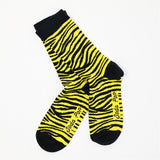 Yellow Zebra Women's Socks
