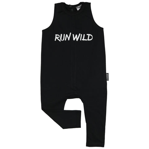 RUN WILD Sleeveless Harem Romper