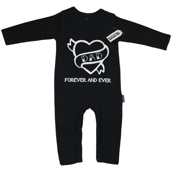 DAD Forever and Ever Baby Romper