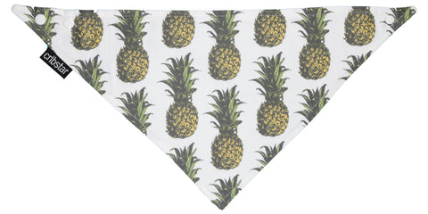 Golden Pineapples Bib