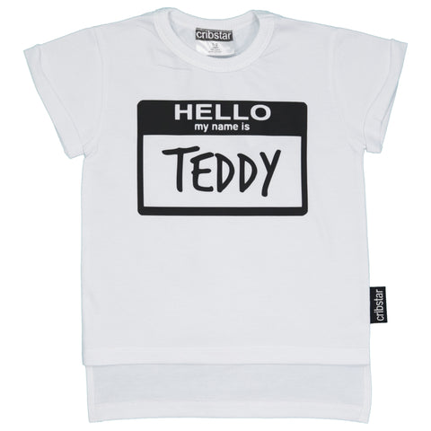 Hello My Name Is.... Personalised T-Shirt