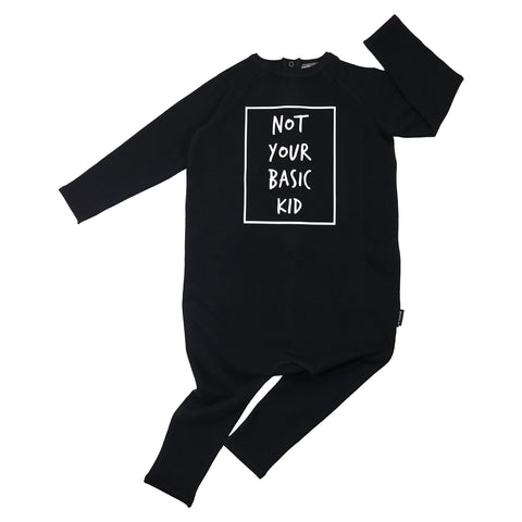 Not Your Basic Kid Long Sleeve Harem Romper