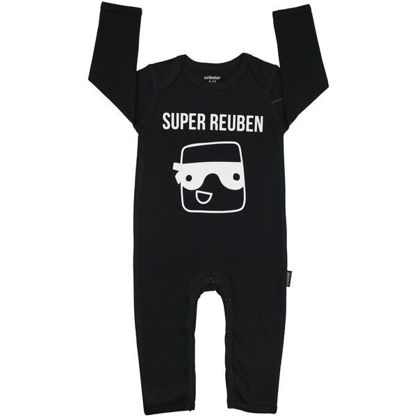 Personalised Super Hero Romper