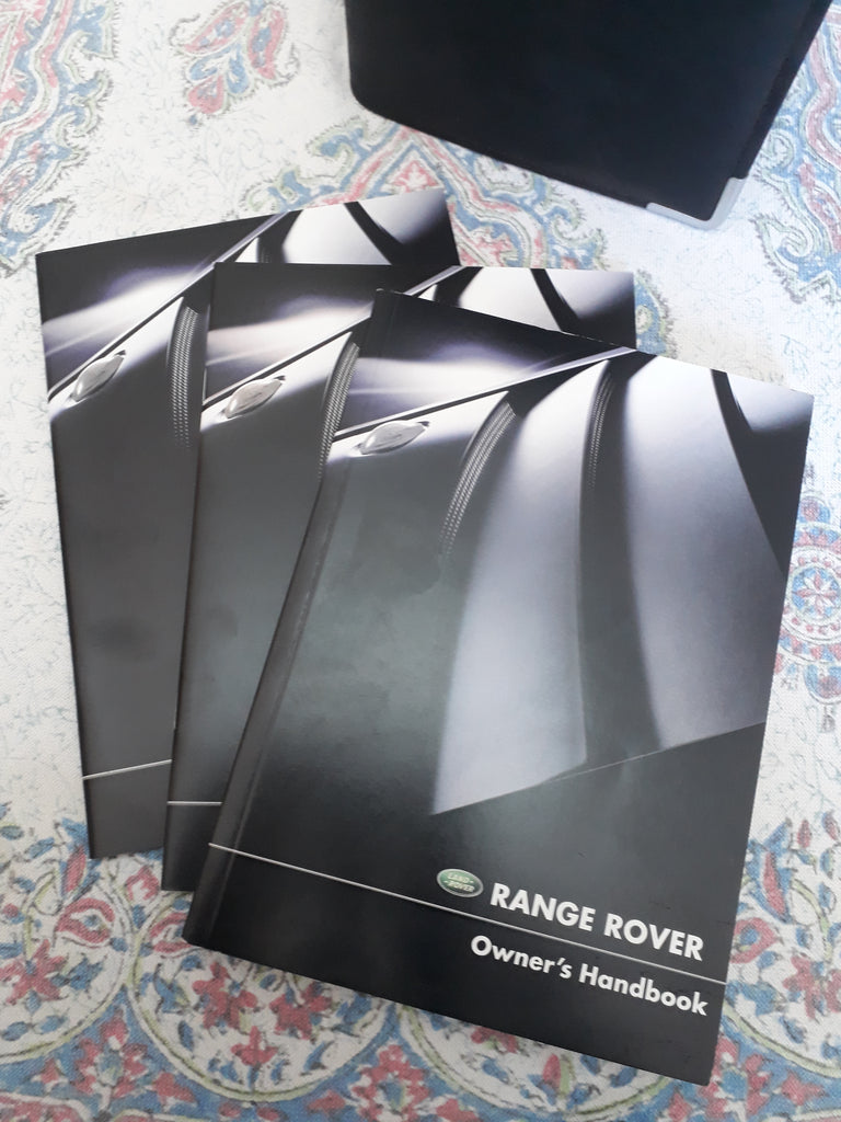 2003 - 2005 Range Rover Big Body Hand books