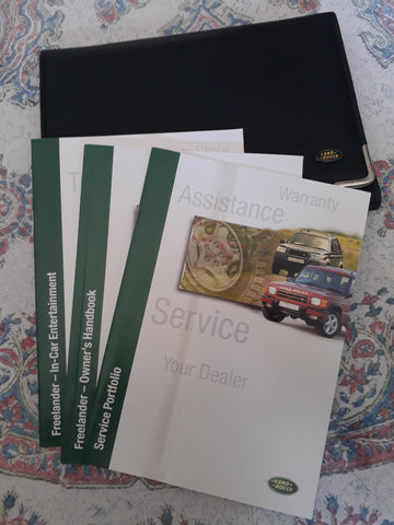 Freelander 1 Hand books