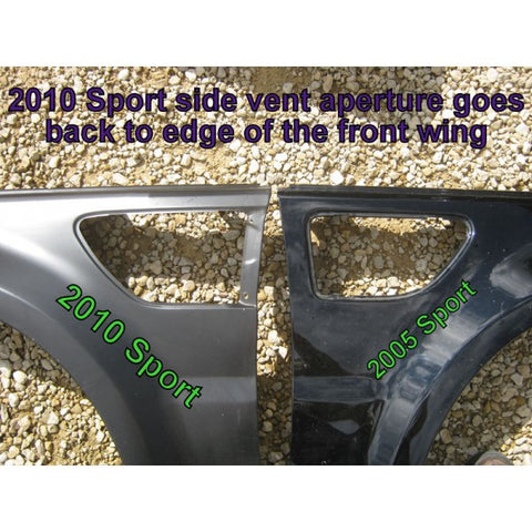 Range Rover Sport Front Fenders 2010 - 2012 - Used