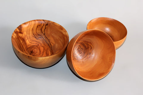 Set of 3 Rounded Bowls