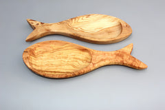 Set of 02 Fish-shaped Olive Dishes