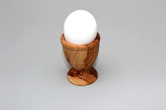 FREE SHIPPING, Olive Wood Egg Cup / Rustic wood egg holders