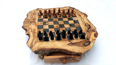 Large Chess board with 32 chess pieces, chess set, wooden chessboard, wood chess set, christmas gift, birthday gift, gift for him