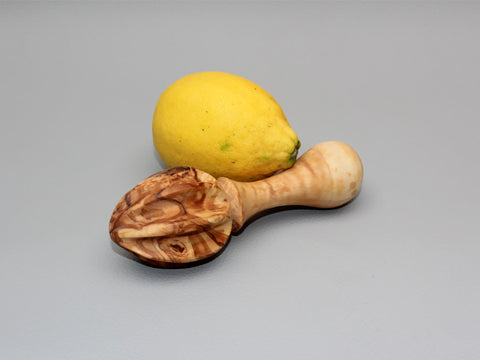 Olive Wood Lemon Juicer / wooden Lemon squeezer / Citrus Reamer Press