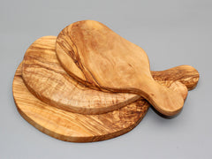 Set of 03 Olive wood Cutting Board /  Wooden Chopping Board set