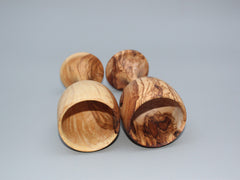 Set of 02 Olive Wood Wine Cups