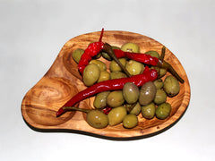 FREE SHIPPING, Olive dish T1
