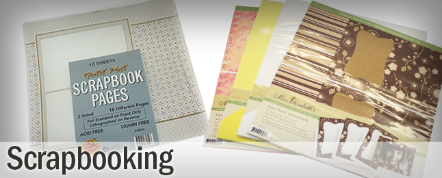 Great prices on Scrapbooking Supplies