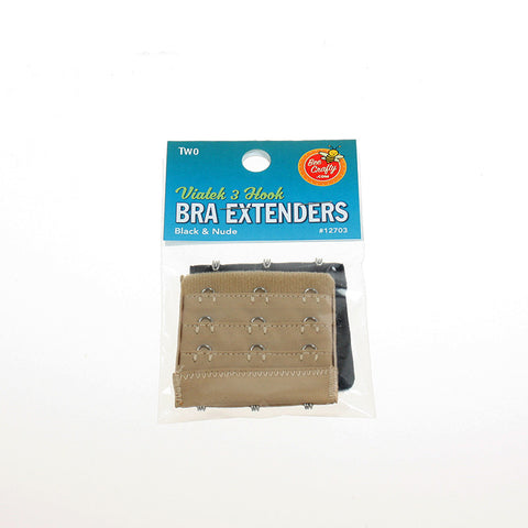 Bra Extenders, 2-pieces    (Retail $3.99 pack, $1.50 wholesale x 30 per case)