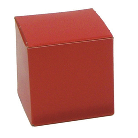 "One Piece Pop-Up Gift Boxes, 3"" x 3"" x 3"" (100 per case)"