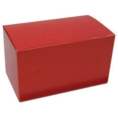 One Piece Pop-Up Gift Boxes, Solid Red ($4.19 retail, $2.10 cost x 24 per case)