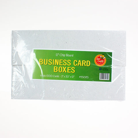 Business Card Boxes ($1.50 each)