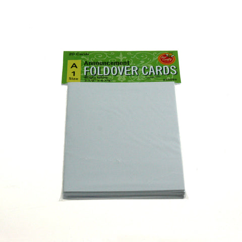 A-1 Announcement Fold-Over Cards ($2.99 retail, $1.50 cost x 24 per case)