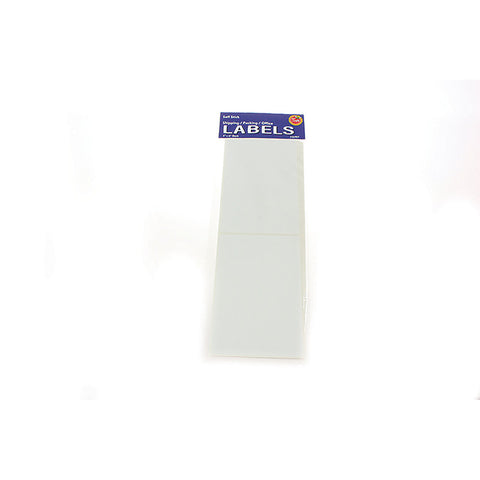 Blank Self Stick Shipping/Packing Labels ($2.99 retail, $1.50 cost x 24 per case)
