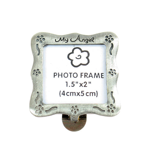 Pewter Angel Photo Clip ($1.99 retail, $0.75 cost x 50 per case)