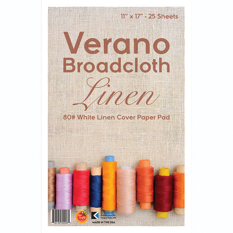 "11"" x 17"" Verano Broadcloth ($8.95 retail, $5.00 cost x 6 per case)"