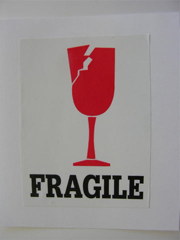 """Fragile"" Label, 3x4 - (Box of 2 Rolls)"