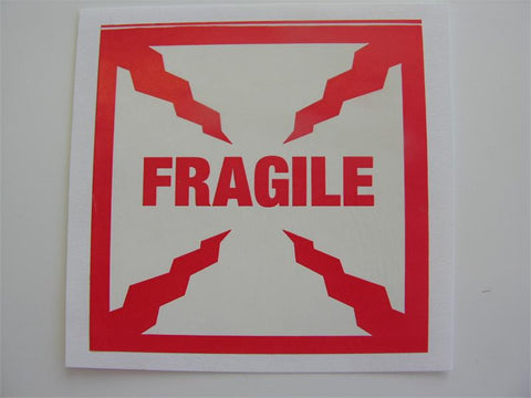 """Fragile"" Label, 4x4 - (Box of 2 Rolls)"