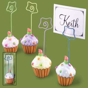 Cupcake Picture/Namecard Holders (Set of 12)