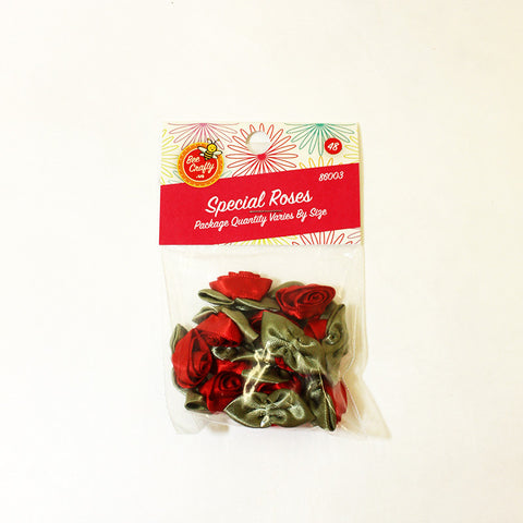 Special Rose Assortment ($2.29 retail, $1.10 wholesale x 60 per case) Assorted
